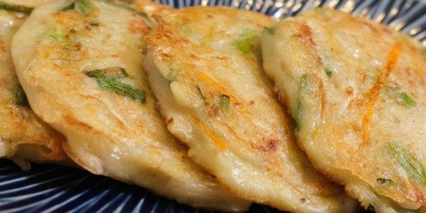 How to make Sukjujeon / Korean Mung Bean Sprouts Pancake | Olive's Cooking