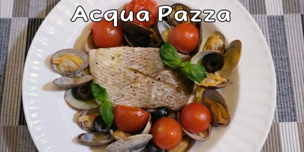 How to make Acqua Pazza / Italian Poached Fish   Olive's Cooking