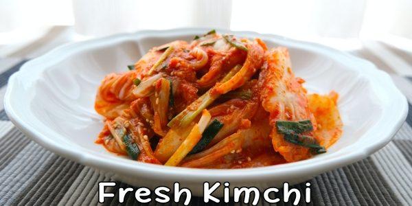 How to make Korean Fresh Kimchi / Geotjeori / Korean Kimchi Recipe | Olive's Cooking