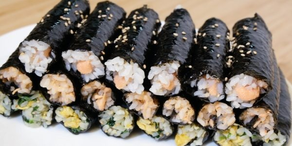 Super simple! The mini kimbap is really delicious | Olive's Cooking